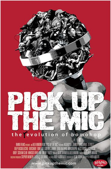 """Pick Up the Mic"" poster"