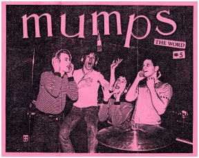 Mumps fan club flyer