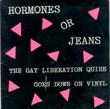 """The Gay Liberation Quire Goes Down On Vinyl"""