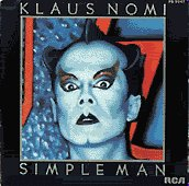 "Klaus Nomi's ""Simple Man"" CD"