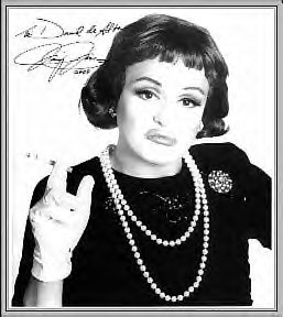 Jimmy James as Bette Davis