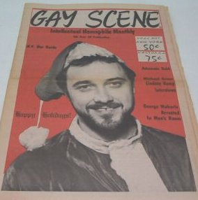 Gay Scene, just to show you the cover