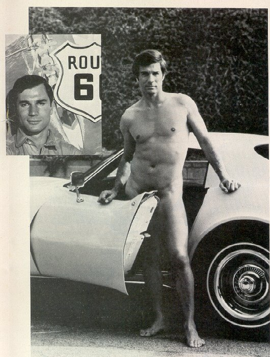 George Maharis from Playgirl