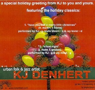 KJ Denhert holiday disc