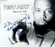 """Marry Me"" CD by Tori Fixx"