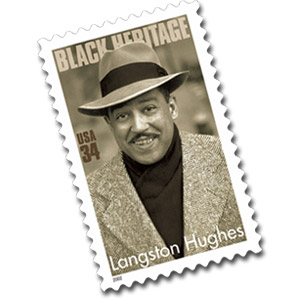 Langston Hughes stamp