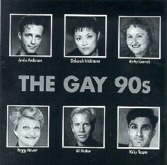 Gay 90s Musical cast