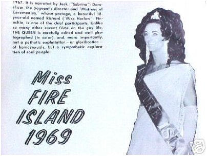 the real Queen of Fire Island, 1969