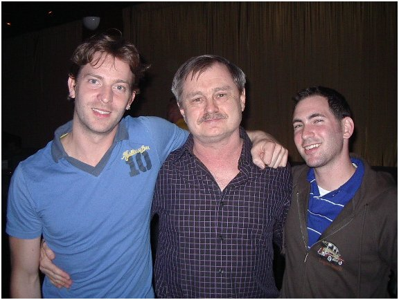 Levi Kreis, JD, Eric Himan, March 2006, in Houston