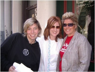 Alix Olson, Jen Foster, Stephanie Callahan  at 2006 Outmusic Awards