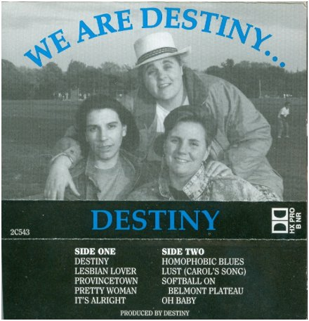 Destiny - Softball on Belmont Plateau (1992)
