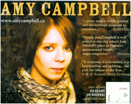 Amy Campbell postcard