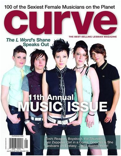LOE on cover of Curve